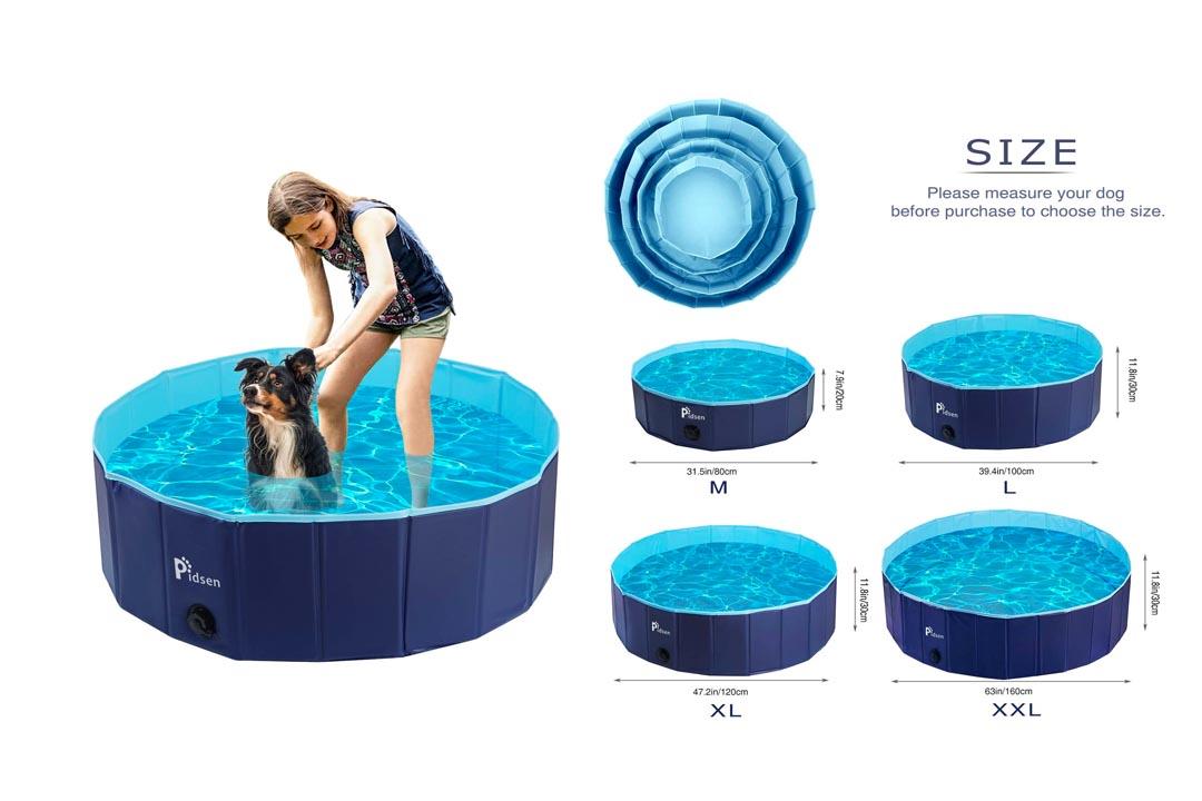 Pidsen Foldable Pet Swimming Pool