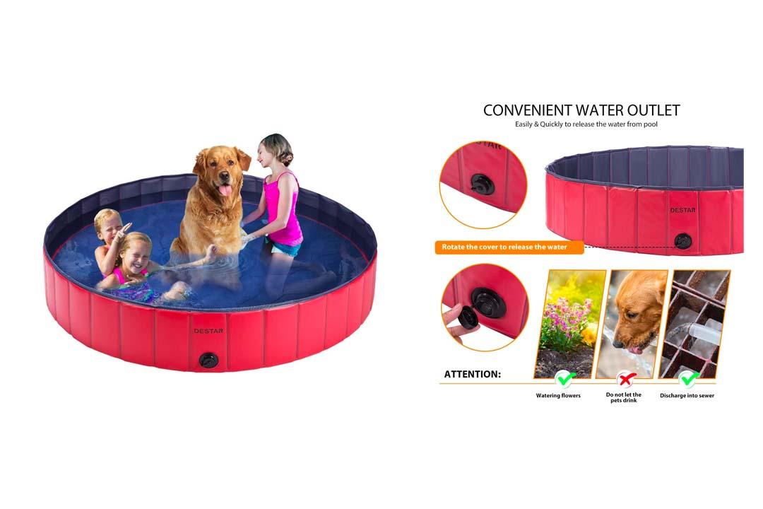 DEStar PVC Foldable Pet