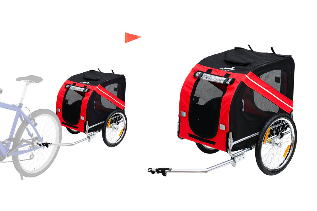 Aosom Bike Trailer Cargo
