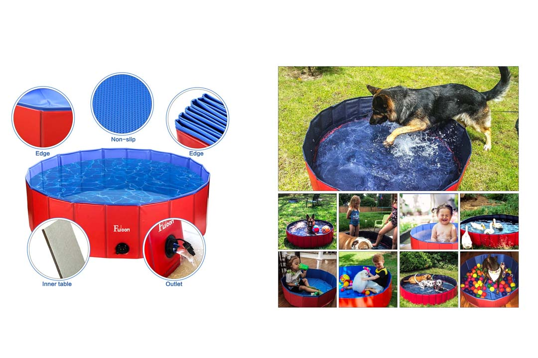 Fuloon PVC Pet Swimming Pool