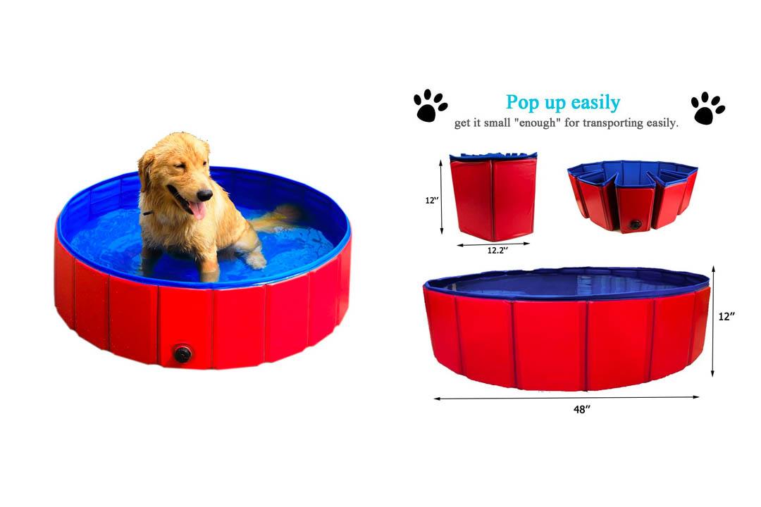 GRULLIN Pet Swimming Pool