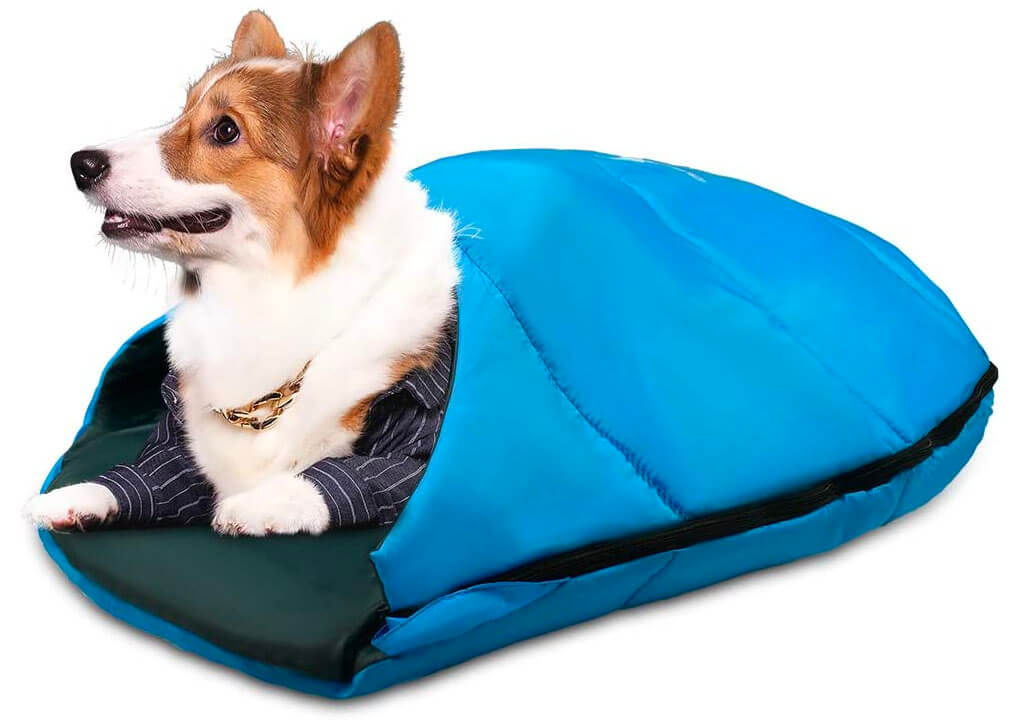 Top 10 Best Sleeping Bags for Dogs of 2020 Review