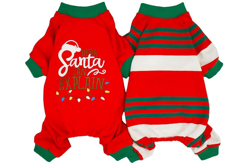 1. Fitwarm Dear Santa I Can Explain 2-Pack