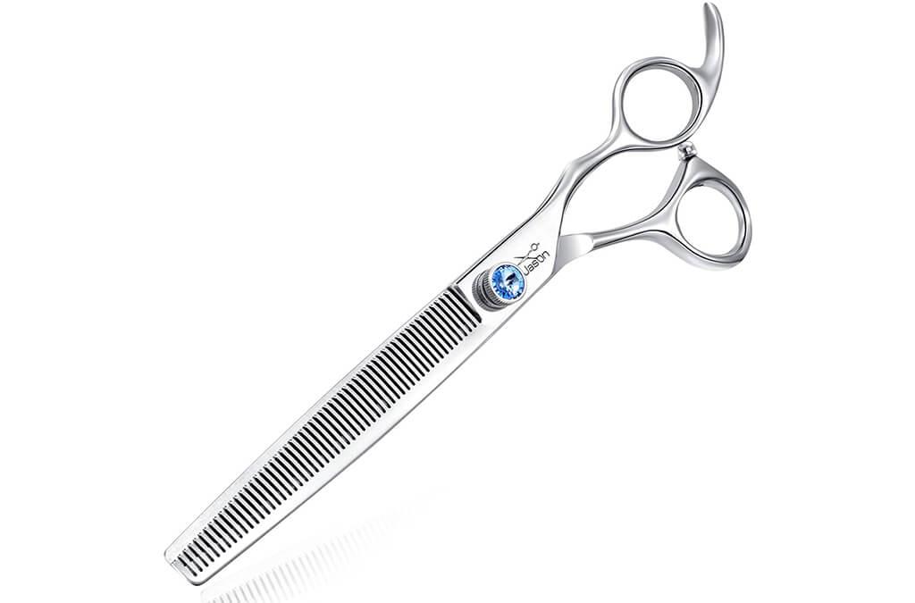 "10. JASON 7.5"" 56-Tooth Blending Dogs Grooming Scissors"