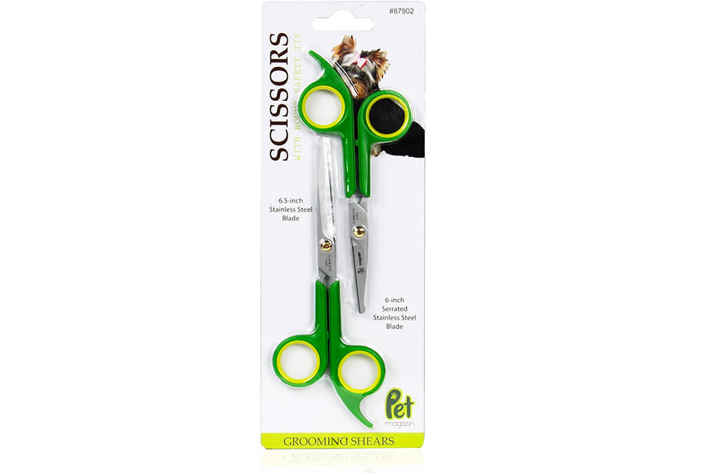 3. Pet Magasin Round Tip Dog Grooming Scissors