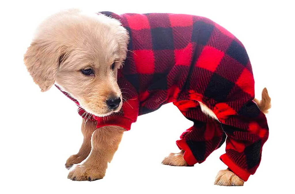 3. SCENEREAL Pet Pajamas for Dogs