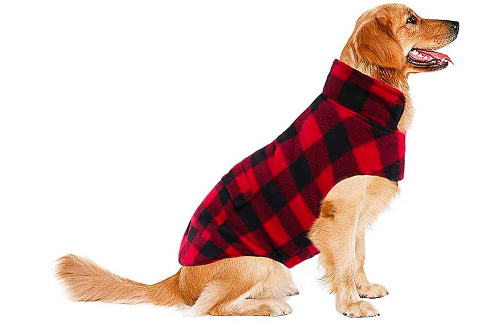5. ASENKU Dog Winter Coat