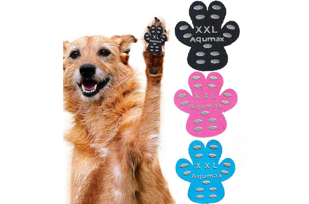 5. Aqumax Dog Paw Protector Anti-Slip Traction Pads