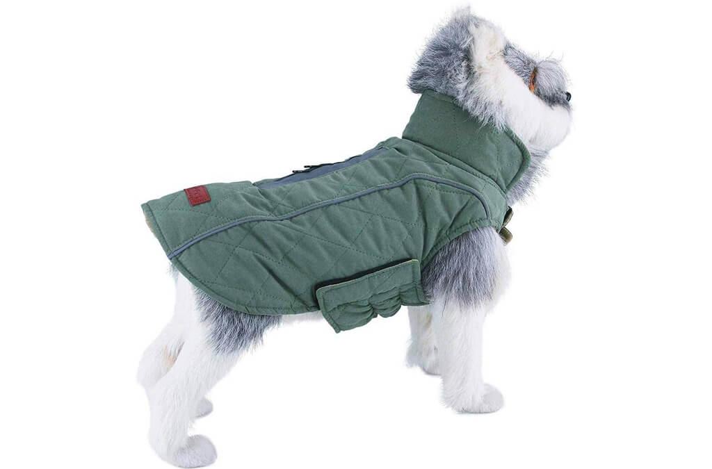6. ThinkPet Warm Reversible Dog Coat