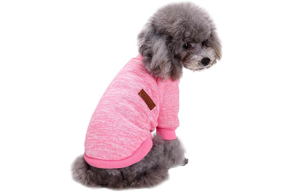 7. Fashion Focus On Pet Dog Clothes Knitwear Dog Sweater