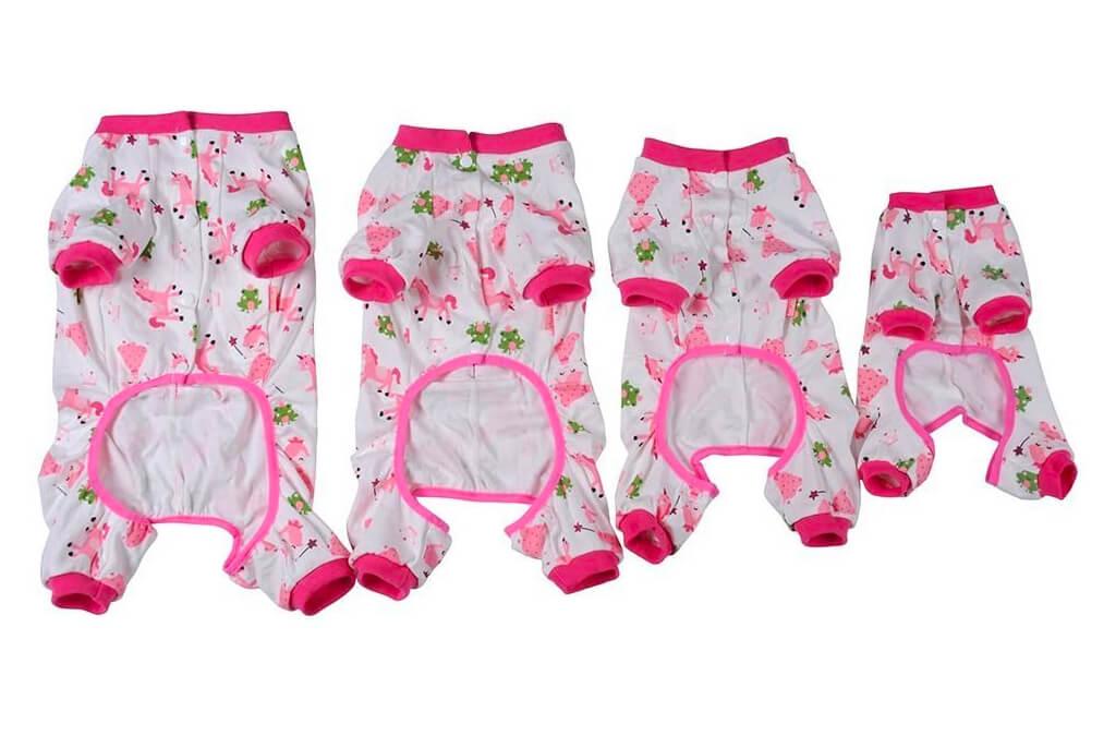 7. Widen Pet Dog Clothes Pajamas Coat Jumpsuit