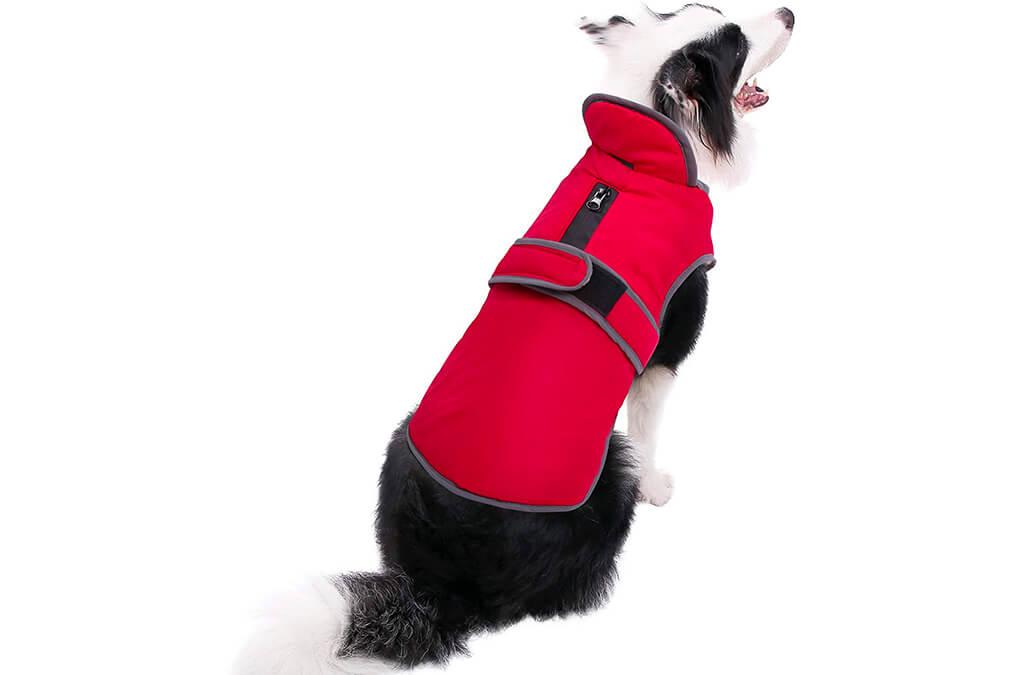 9. MIGOHI Reflective Waterproof Windproof Dog Coat